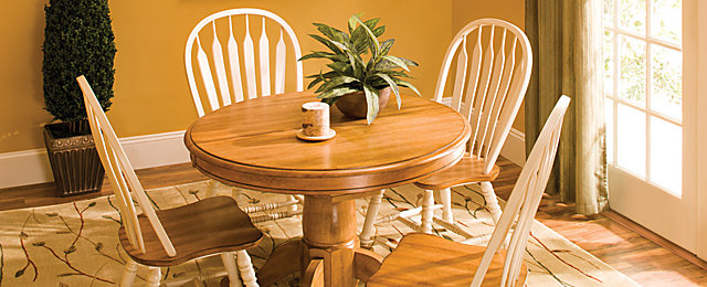 Dining Room Furniture That Fits | Small Talk | Raymour and ...