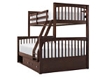 Jordan Twin-Over-Full Bunk Bed w/ Storage