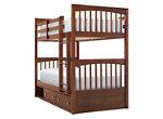 Jordan Twin-Over-Twin Bunk Bed w/ Storage