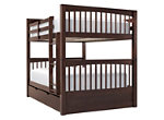 Jordan Full-Over-Full Bunk Bed w/ Trundle