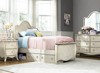 Mila Transitional Kids Bedroom Collection Design Tips Ideas Raymour And Flanigan Furniture