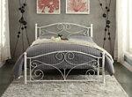 Kari Full Metal Platform Bed