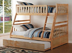 Carissa Twin-Over-Full Bunk Bed with Trundle
