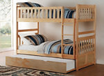 Carissa Twin Bunk Bed with Trundle