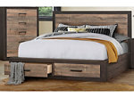 Chad King Storage Bed
