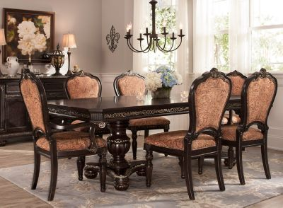 Regal Manor 7 Pc Dining Set Raymour, Raymour And Flanigan Dining Room Sets