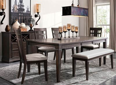 Sheffield 6 Pc Dining Set Raymour, Raymour And Flanigan Dining Room Sets