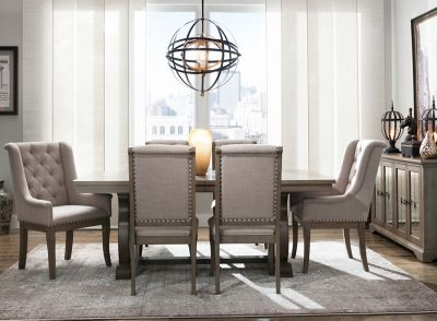 Lorient 7 Pc Dining Set Raymour, Raymour And Flanigan Dining Room Sets