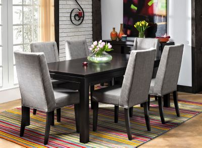 Logan 7 Pc Dining Set Raymour Flanigan, Raymour And Flanigan Dining Room Sets