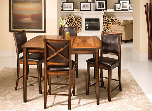 Denver 5 Pc Counter Height Dining Set