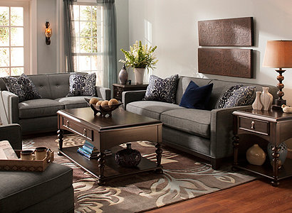 Chilson Contemporary Living Room Collection Design Tips