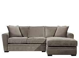 Artemis II 2-pc. Microfiber Sectional Sofa