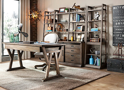 Wyatt Casual Home Office Collection Design Tips Ideas Raymour And Flanigan Furniture