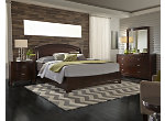 Avalon 4-pc. King Panel Bedroom Set w/ Square Mirror