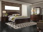 Avalon 4-pc. King Storage Bedroom Set w/ Square Mirror