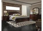Avalon 4-pc. Queen Storage Bedroom Set w/ Arched Mirror