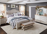 Farmhouse Reimagined 4-pc. Queen Bedroom Set w/ Drawer Nightstand