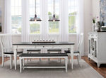 Shelby 6-pc. Dining Set w/Bench