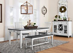 Shelby 4-pc. Dining Set w/Bench