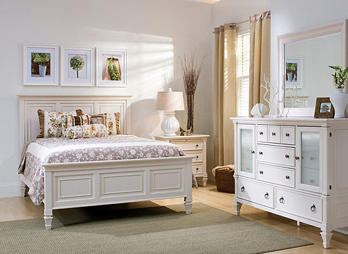 somerset 4 pc king bedroom set alabaster raymour 19591 | magn 596007192 3000 pd productmain 500w