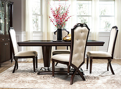 Valentina Transitional Dining Collection | Design Tips & Ideas ...