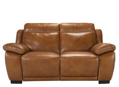 Chadborne Leather Power Reclining Loveseat