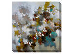 Abstract Color Burst Canvas Wall Art