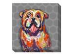Bulldog Canvas Wall Art