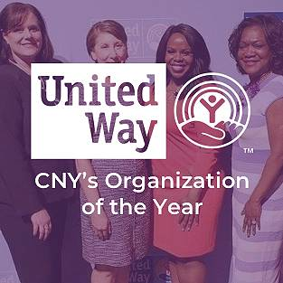 United Way CNY's Organization of the Year