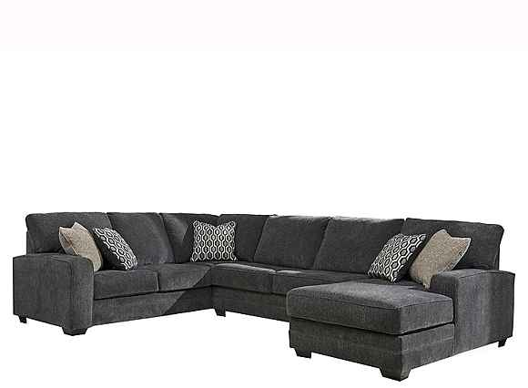 Wetzel 3 Pc Sectional Sofa Slate