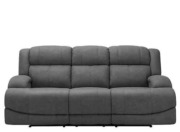 Quincey Reclining Sofa Smoke