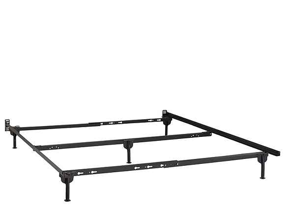 Twin Full Queen Bed Frame W Glides