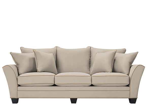 Briarwood Microfiber Sofa Light Taupe