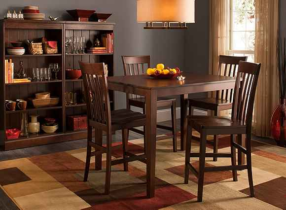 52nd Street 5 Pc Counter Height Dining