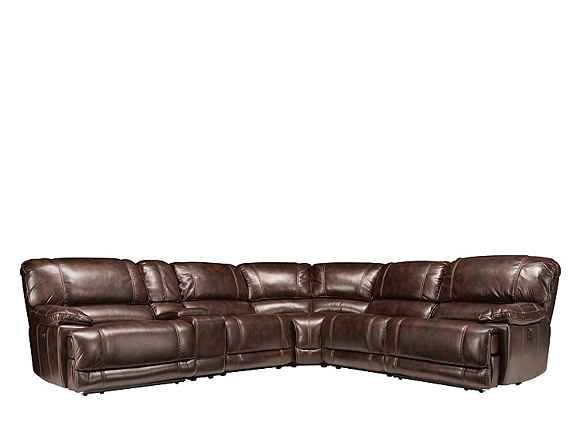 Dowling 6 Pc Sectional Sofa W 2