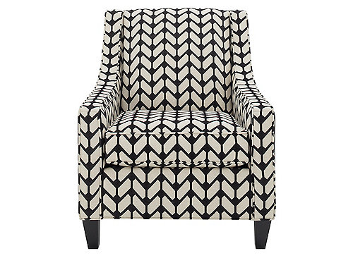 Carley Accent Chair Durban Domino Raymour Amp Flanigan