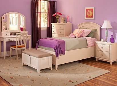 Lavendar   CreamKylie Transitional Kids Bedroom Collection   Design Tips   Ideas  . Raymour And Flanigan Bedroom Sets. Home Design Ideas