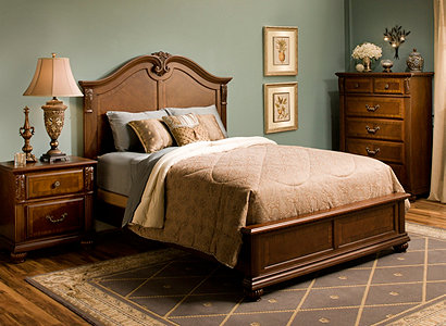 Ashbury Traditional Bedroom Collection Design Tips