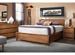 Aversa 4-pc. King Bedroom Set w/ 1 side Storage Bed