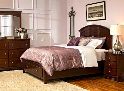 Raymour Flanigan Kylie 4 Pc Storage Bedroom Set