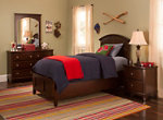 Kylie Youth 4-pc. Full Platform Bedroom Set