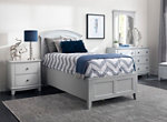 Kylie Youth 4-pc. Twin Platform  Bedroom Set