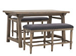 Cassidy 3-pc. Counter-Height Dining Set