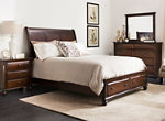 Clarion 4-pc. Queen Platform Bedroom Set w/ Storage Bed