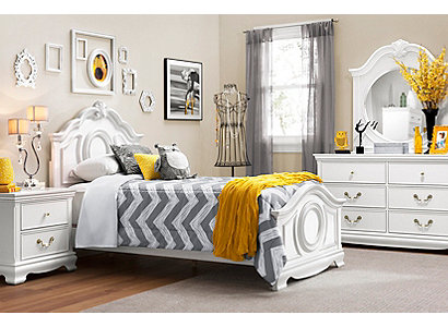 Bedroom Sets Raymour And Flanigan winnie traditional kids bedroom collection | design tips & ideas