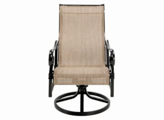 Sentosa Outdoor Swivel Sling Dining Chair