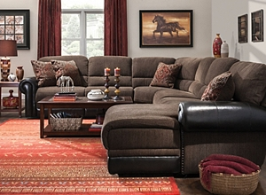 brown leather living room furniture. Sectional Sofas Living Room Furniture  Raymour Flanigan