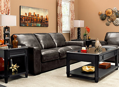 Ryden Contemporary Living Room Collection Design Tips