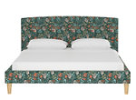 Drita Twin Upholstered Platform Bed