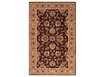 Ashlen Burgundy and Khaki Area Rug, 6' x 9'
